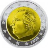 2 euro (other side, country Belgium) 2