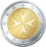 2 euro (other side, country Malta) 2