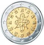 2 euro (other side, country Portugal) 2